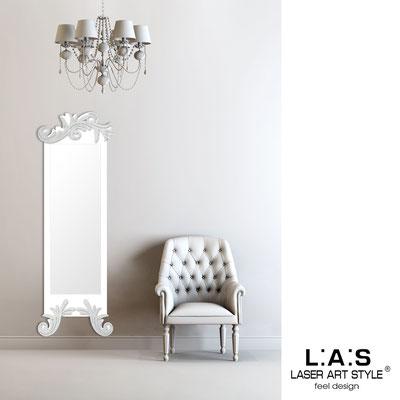 Specchiere </br> Codice: SI-250-SP | Misura: 60x180 cm </br>  Colore: bianco-argento