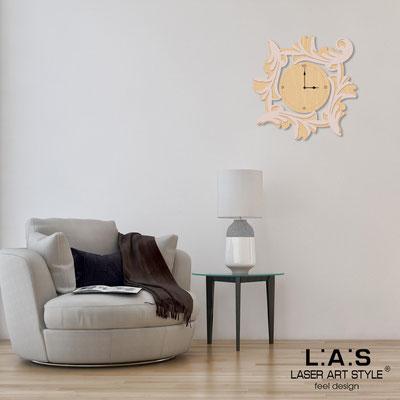 Wall clocks </br> Code: MW-246OR | Size: 60x60 cm </br> Code: MW-246OR-L | Size: 90x90 cm </br> Colour: natural wood-rosy-wood engraving