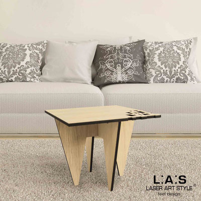 Furnishings </br> Code: W-391   Size: 60x60 h50 cm </br> Colour: natural wood