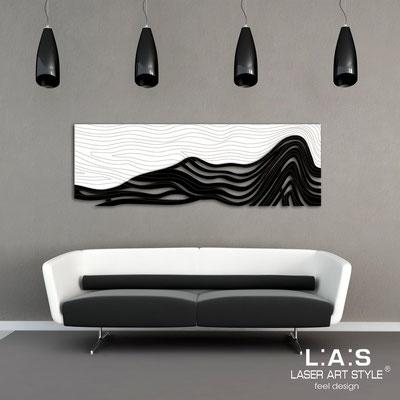 Quadri Figurativi </br> Codice: SI-178 | Misura: 180x60 cm </br> Colore: bianco-nero-incisione legno