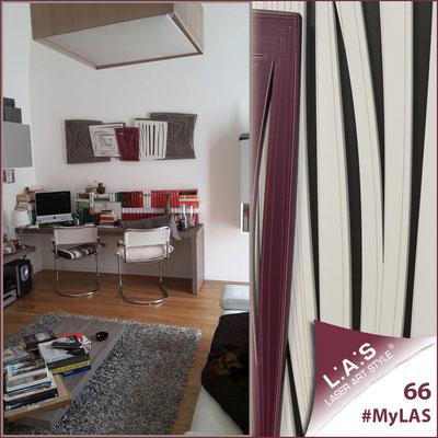 A casa di Giovanna <br> Abitazione privata | Italia </br> Codice: SI-147 | Misura: 180x60 cm <br> **PERSONALIZZATO** Colore: marrone - panna - bordeaux