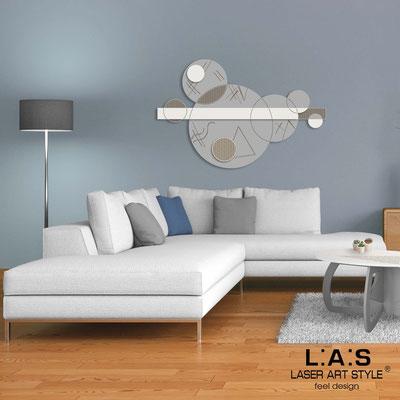 Quadri Astratti </br> Codice: SI-350 | Misura: 150x100 cm </br> Colore: cemento-panna-incisione legno