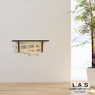 Complementi d'arredo </br> Codice: W-383 | Misura: 60x30 cm </br> Colore: natural wood