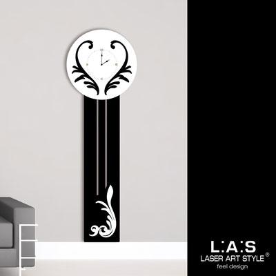 Orologi </br> Codice: SI-244OR | Misura: 60x180 cm </br>  Colore: nero-bianco-incisione legno