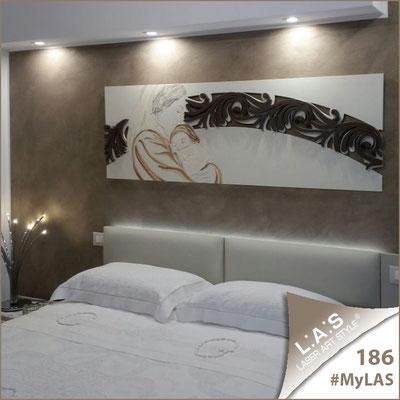 Abitazione privata   Italia <br> Codice: SI-234   Misura: 180x60 cm </br> Colore: panna-grigio marrone/decoro marrone