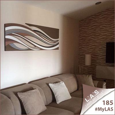 A casa di Mary   Italia </br> Codice: SI-114C   Misura: 180x55 cm (2pz) </br> Colore: decoro marrone-marrone