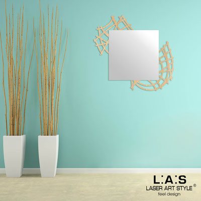 Mirrors </br> Code: W-398 | Size: 85x90 cm </br>  Colour: natural wood