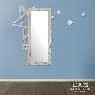 Furnishings </br> Code: MG-293   Size: 100x150 cm </br> Colour: grey wood-grey light blue-inox steel