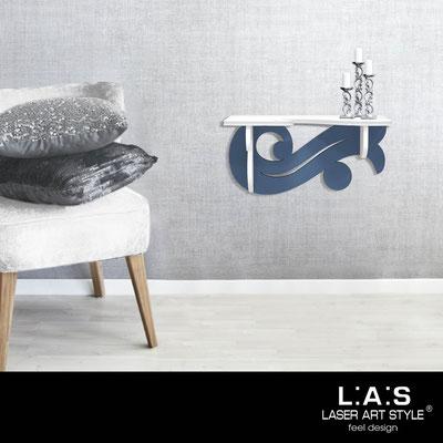 Furnishings </br> Code: SI-284   Size: 60x30 cm </br> Colour: white-denim
