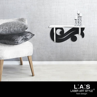 Furnishings </br> Code: SI-284   Size: 60x30 cm </br> Colour: white-black