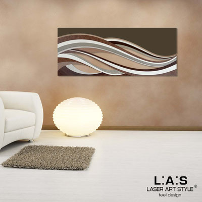 Abstract wall sculptures </br> Code: SI-114B | Size: 2pz 150x60 cm/cad </br> Colour: brown decoration-brown-wood engraving
