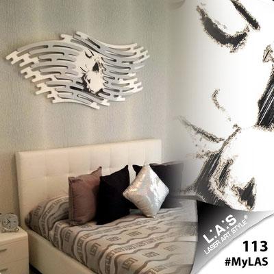 A casa di Salvatore <br> Abitazione privata | Italia </br> Codice: SI-160 | Misura: 165x73 cm </br> Colore: bianco - argento - incisione nero
