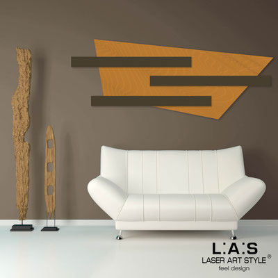 Abstract wall sculptures </br> Code: SI-190 | Size: 180x70 cm </br> Colour: light orange-brown-wood engraving