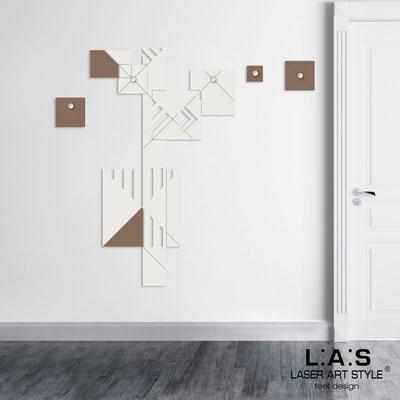 Complementi d'arredo </br> Codice: SI-366 | Misura: 90x150 cm </br> Colore: panna-grigio marrone-incisione legno