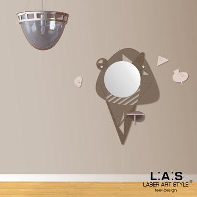 Complementi d'arredo </br> Codice: SI-379 | Misura: 100x150 cm </br> Colore: grigio marrone-rosa bon bon-incisione legno