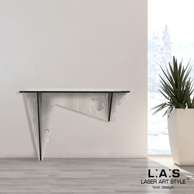 Furnishings </br> Code: G-418   Size: 120x40 h80 cm </br> Colour: grey wood