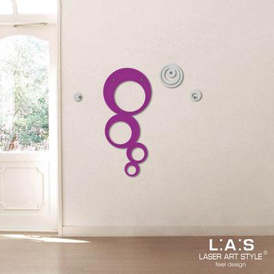 Complementi d'arredo </br> Codice: SI-337 | Misura: 47x105 cm </br> Colore: violetto-grigio luce-incisione tono su tono