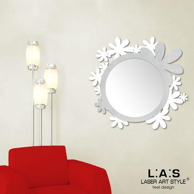 Mirrors </br> Code: SI-206Q-SP | Size: 93x87 cm </br>  Colour: white-silver