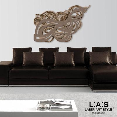 Quadri Astratti </br> Codice: SI-171 | Misura: 150x100 cm </br> Colore: nocciola-grigio marrone-incisione legno