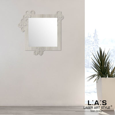 Mirrors </br> Code: G-420 | Size: 90x90 cm </br>  Colour: grey wood