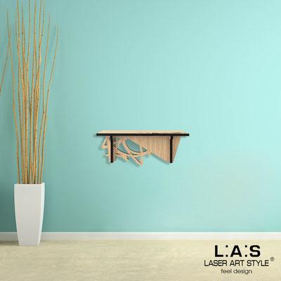 Complementi d'arredo </br> Codice: W-394 | Misura: 60x30 cm </br> Colore: natural wood