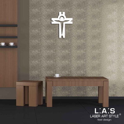 Crucifixes </br> Code: CR25 | Size: 32x40 cm </br> Colour: white