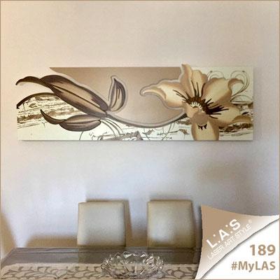 A casa di Giovanna   Italia </br> Codice: SI-074-B   Misura: 90x70 cm </br> Colore: panna-nocciola-decoro tortora