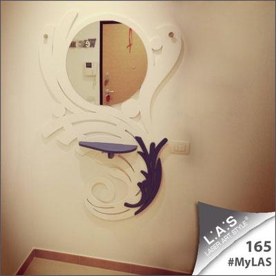 A casa di Vito   Italia </br> Codice: SI-287   Misura: 100x150 cm </br> Colore: bianco-blu distante