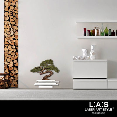 Quadri Floreali </br>  Codice: SI-192-G | Misura: 73x73 cm </br>  Colore: bianco-decoro verdone-incisione legno