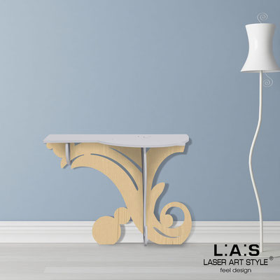 Furnishings </br> Code: MW-286   Size: 120x40 h80 cm </br> Colour: light grey-natural wood