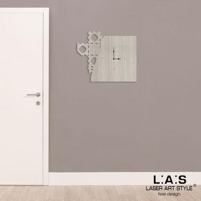 Orologi </br> Codice: G-415 | Misura: 65x55 cm </br>  Colore: grey wood