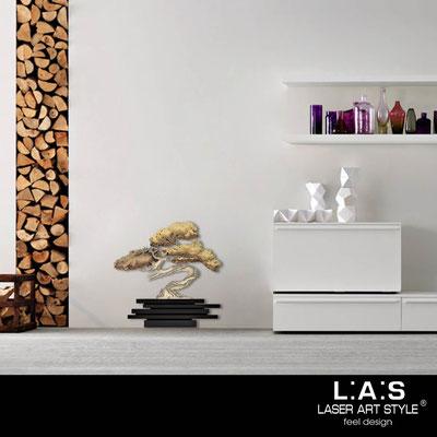 Quadri Floreali </br>  Codice: SI-192-G | Misura: 73x73 cm </br>  Colore: nero-decoro toni caldi-incisione legno