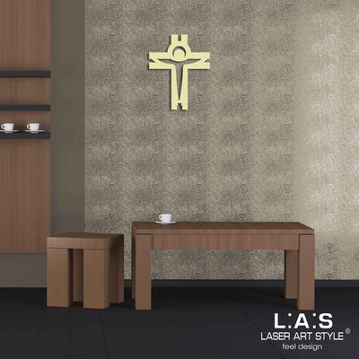 Crucifixes </br> Code: CR25 | Size: 32x40 cm </br> Colour: sand
