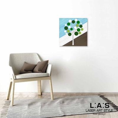 Quarantotto </br>  Code: Q-009 | Size: 48x48 cm </br> Colour: green decoration-wood engraving