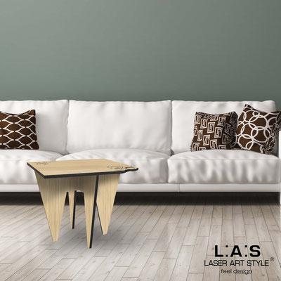 Complementi d'arredo </br> Codice: W-422 | Misura: 60x60 h50 cm </br> Colore: natural wood