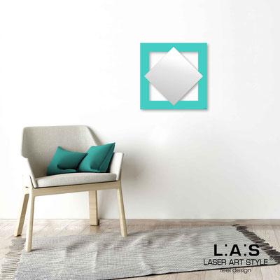 Quarantotto </br>  Code: Q-SP | Size: 48x48 cm </br> Colour: turquoise