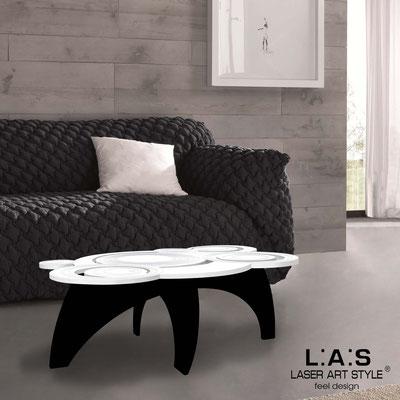 Complementi d'arredo </br> Codice: SI-283 | Misura: 100x60 h40 cm </br> Colore: bianco-nero-incisione tono su tono
