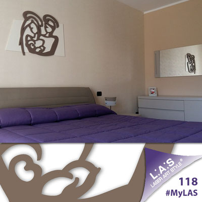 A casa di Michele <br> Abitazione privata | Italia </br> Codice: SI-228XL | Misura: 90x70 cm </br> Colore: panna-grigio marrone