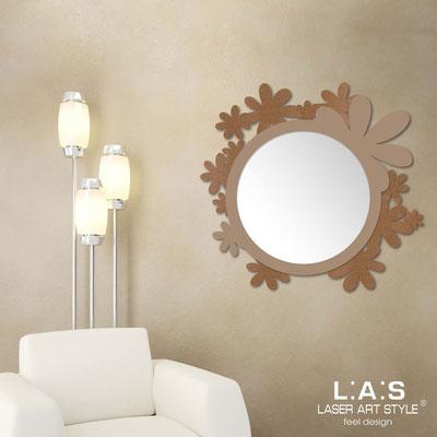 Mirrors </br> Code: SI-206Q-SP | Size: 93x87 cm </br>  Colour: bronze-hazel