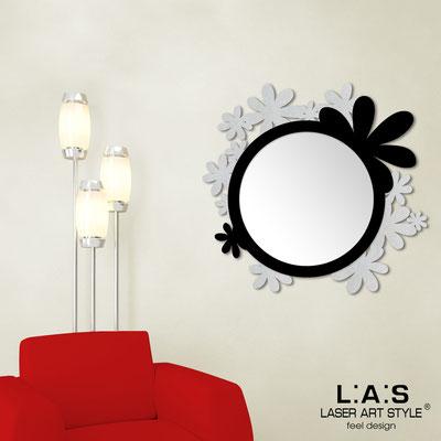 Mirrors </br> Code: SI-206Q-SP | Size: 93x87 cm </br>  Colour: silver-black