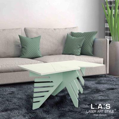 Complementi d'arredo </br> Codice: SI-364 | Misura: 100x60 h50 cm </br> Colore: panna-grigio verde-incisione legno