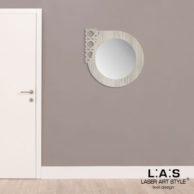 Mirrors </br> Code: G-408 | Size: 72x72 cm </br>  Colour: grey wood
