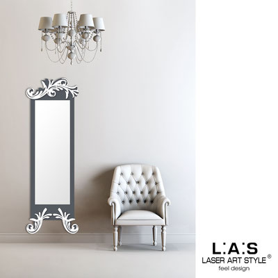 Mirrors </br> Code: SI-250-SP | Size: 60x180 cm </br>  Colour: charcoal grey-white