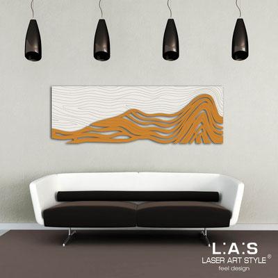 Figurative wall sculpture </br> Code: SI-178 | Size: 180x60 cm </br> Colour: cream-light orange-wood engraving