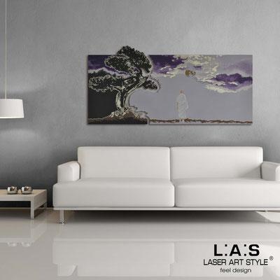 Figurative wall sculpture </br> Code: SI-177 | Size: 165x80 cm </br> Colour: brown-wistaria-purple decoration-invariable engraving