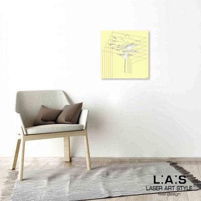 Quarantotto </br>  Codice: Q-011 | Misura: 48x48 cm </br> Colore: blonde-incisione legno