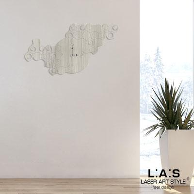 Wall clocks </br> Code: G-426L | Size: 100x60 cm </br> Colour: grey wood