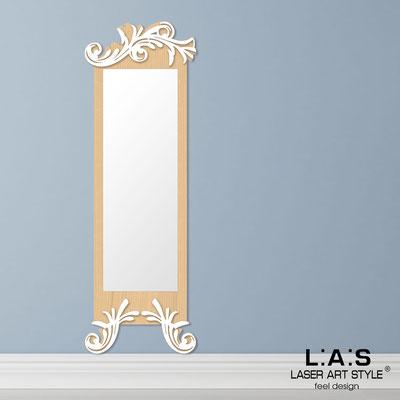 Specchiere </br> Codice: MW-250-SP | Misura: 60x180 cm </br>  Colore: natural wood-bianco