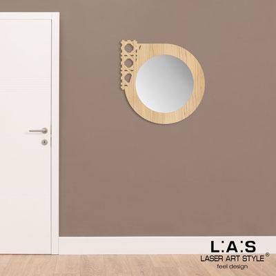 Specchiere </br> Codice: W-408 | Misura: 72x72 cm </br>  Colore: natural wood