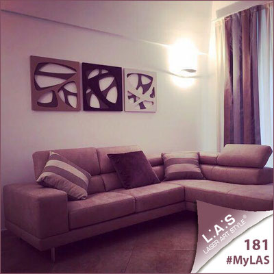 Abitazione privata   Italia </br> Codice: SI-146L   Misura: 60x60 cm/cad <br> Colore: grigio marrone/marrone-panna-nocciola